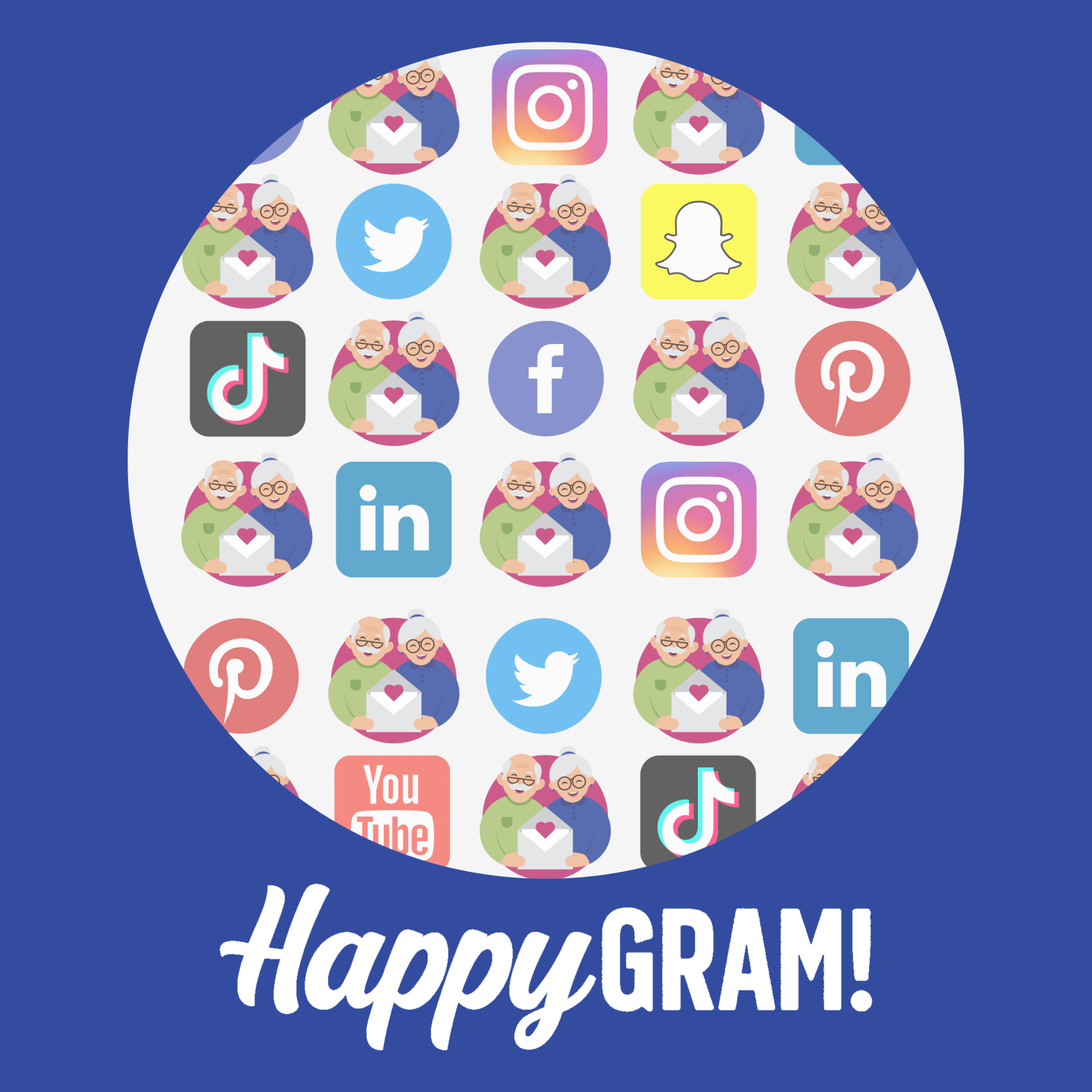 HappyGram and Social Media