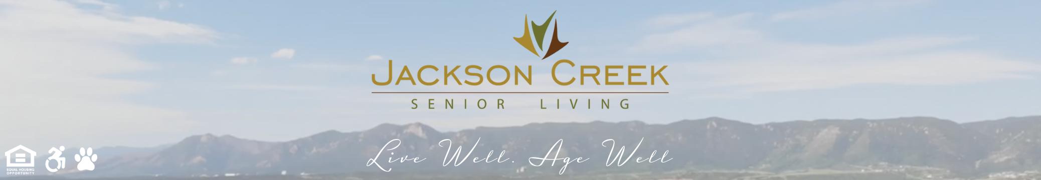 Jackson Creek Senior Living - Website Header