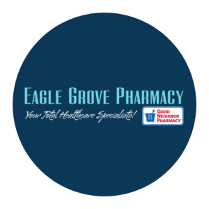 Eagle Grove Pharmacy HappyGram Sponsor Logo