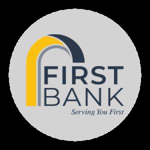 Sponsor Logo - First Bank (Eagle Grove, Iowa - Rotary Senior Living)